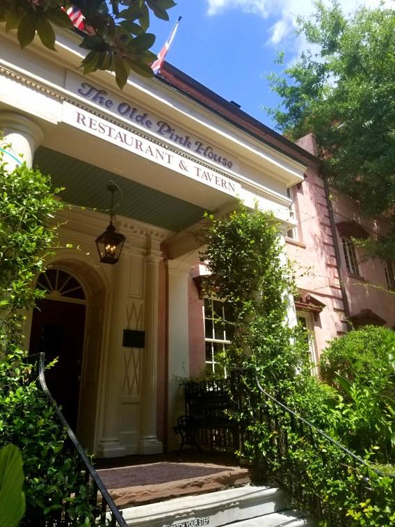 Old Pink House Savannah