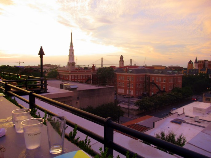 Perry Lane Rooftop Bar Savannah