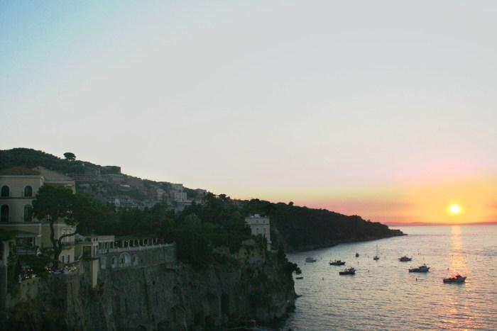 Sorrento, Sunset, Italy