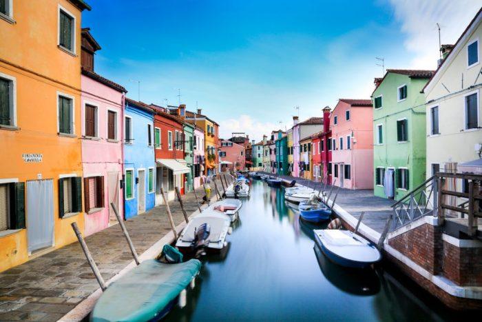 murano, venice, italy, colorful