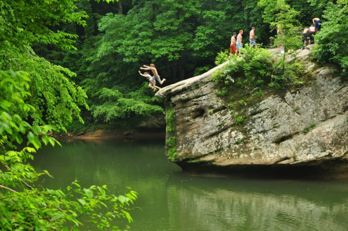 jump rock red river gorge