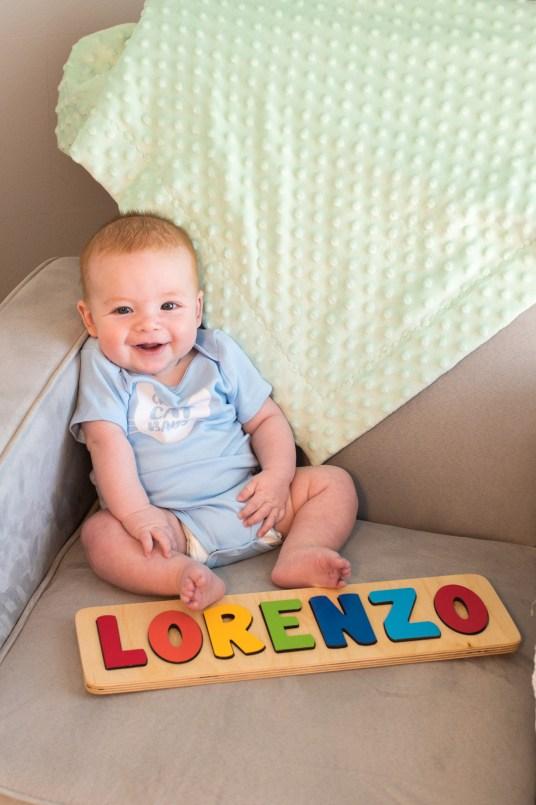 Rainbow Baby Name Puzzle