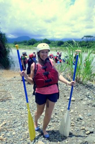rafting la fortuna rio celeste