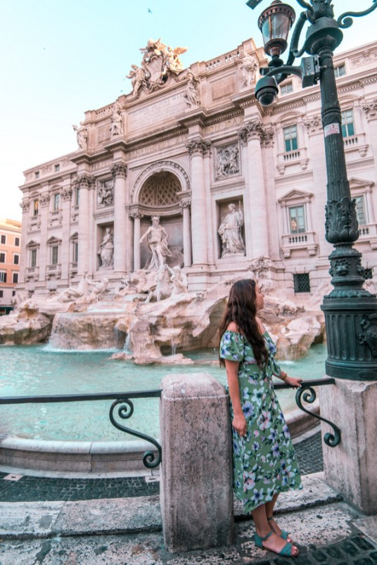 rome photo, trevi fountain, instagram