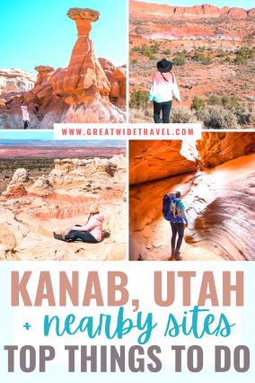 Kanab Things to Do. Best Hikes near Kanab. Toadstool Hoodos. PeekABoo Canyon.