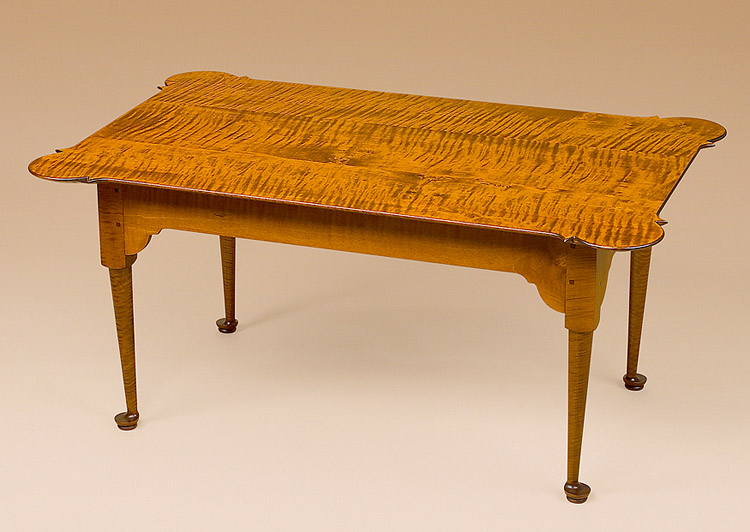 queen anne coffee table image