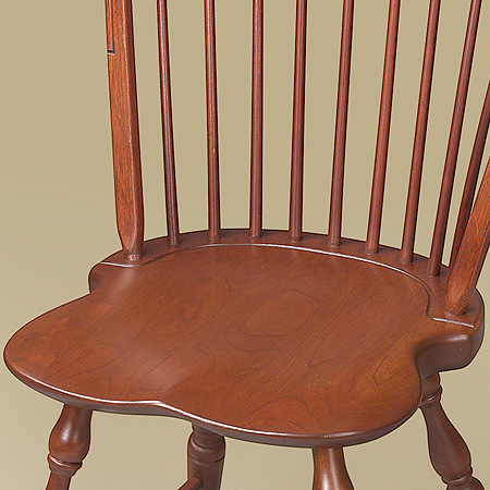 Cherry BowBack Windsor Side Chair