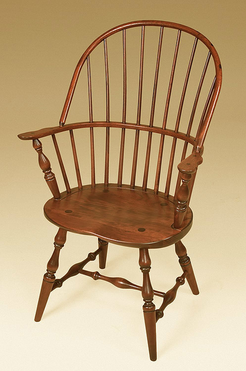 windsor chair with arms pier one hanging cherry sack back armchair image