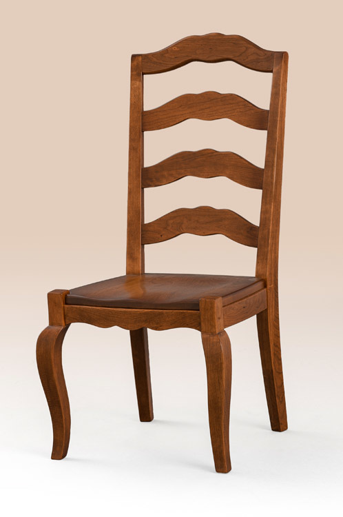 French Country Dining Room Chair Side