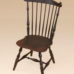 Windsor Kitchen Chairs Keller Barber New England Fan Back Side Chair Image