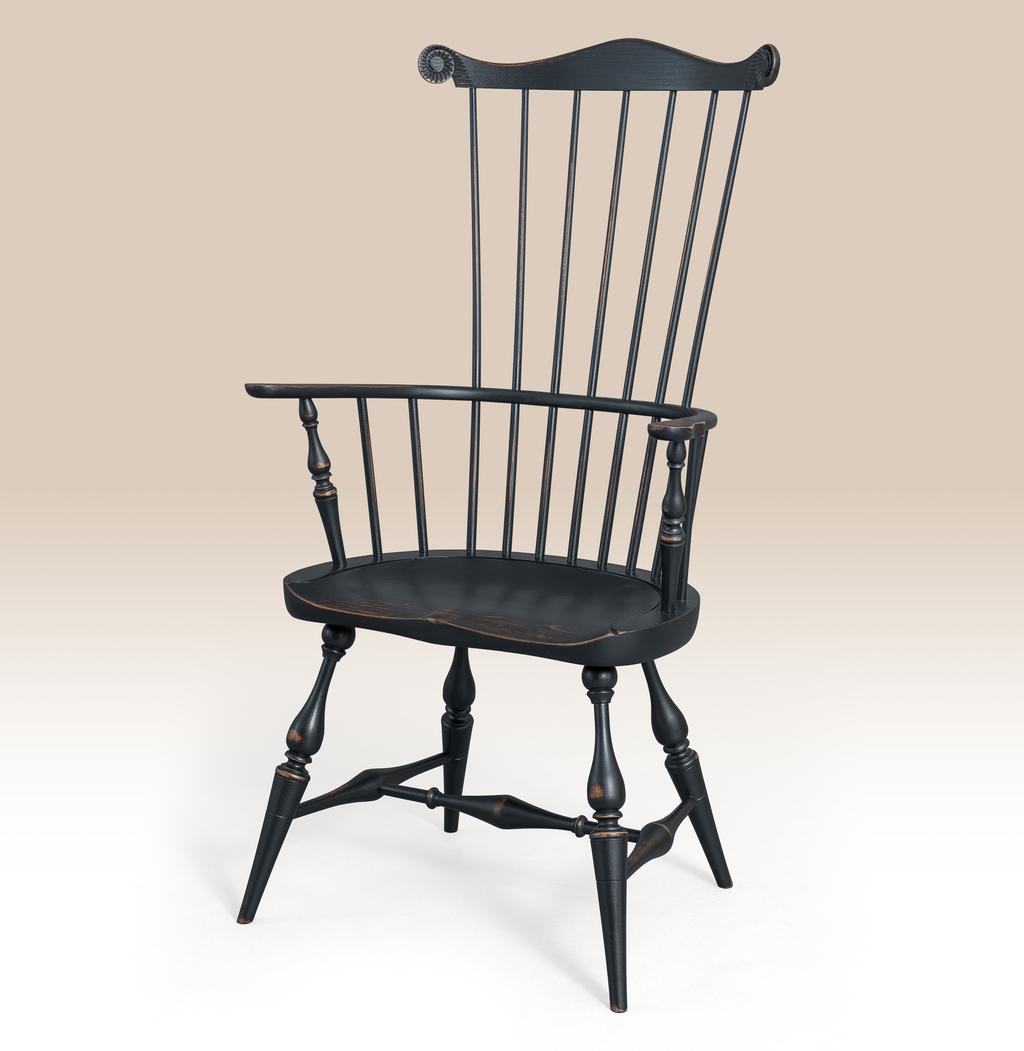 Historical Greenwich FanBack Chair