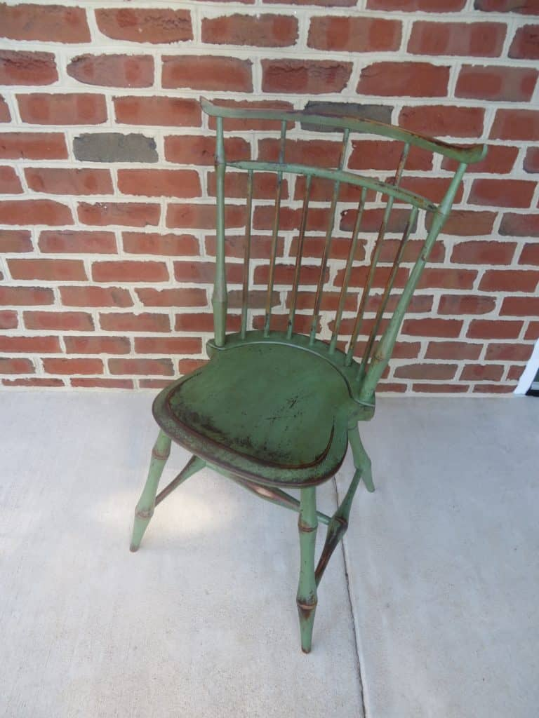 Green Windsor Chair