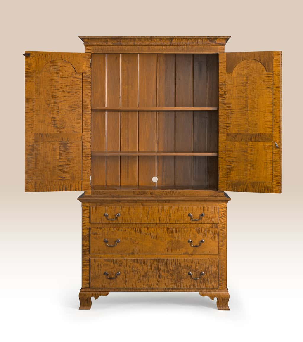 Historical Pennsylvania Clothes Cabinet