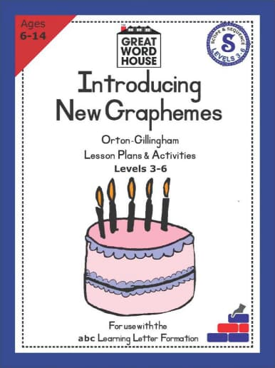 Introducing New Graphemes Levels 3-6