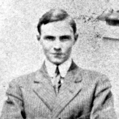 Young Alfred H. Grebe, circa 1913
