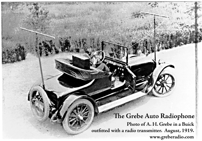 Grebe Auto Radiophone, August 1919