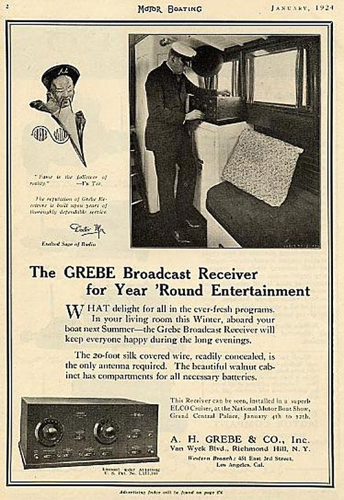 Motor Boat Radio Ad