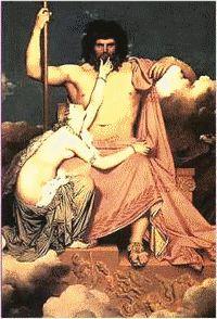 ZEUS Peint par INGRES