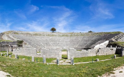 Dodona una de las zonas más antigua y sagradas de Grecia