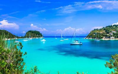 Paxí, una isla de ensueño