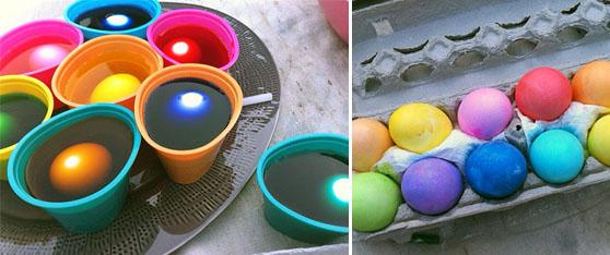 eggsin dye