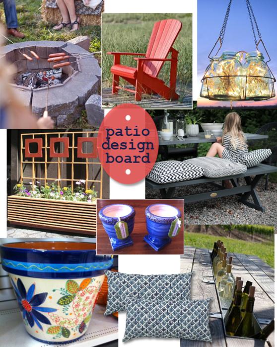 patio design board