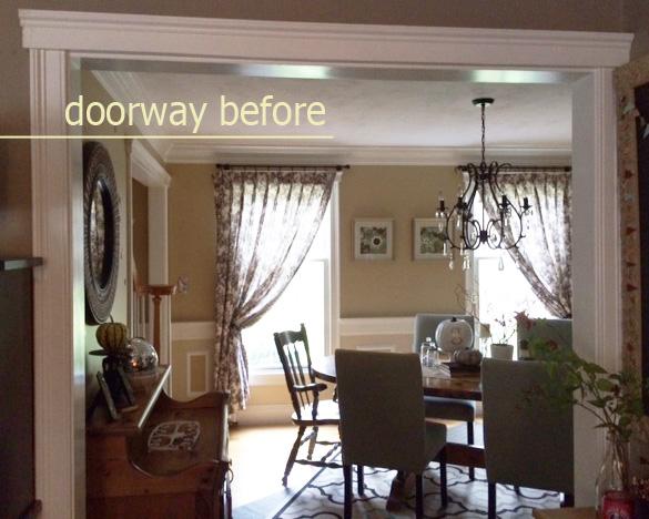 doorway before whole
