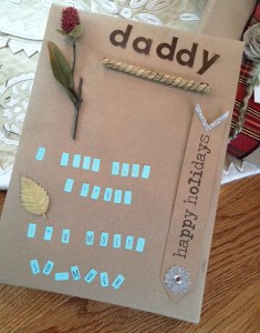 gift wrapping & gift tags