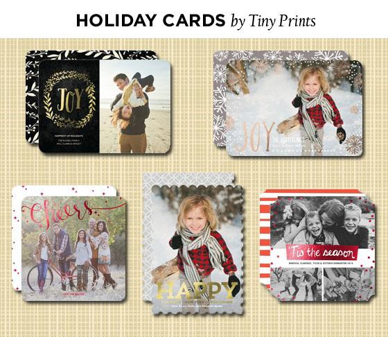 tinyprints Christmas cards