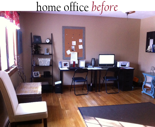 office before a