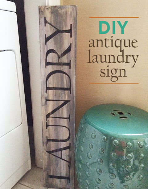 laundry room sign first