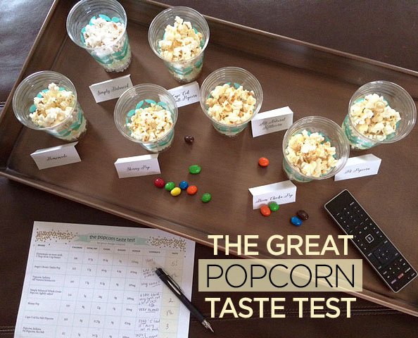 popcorn taste test overview