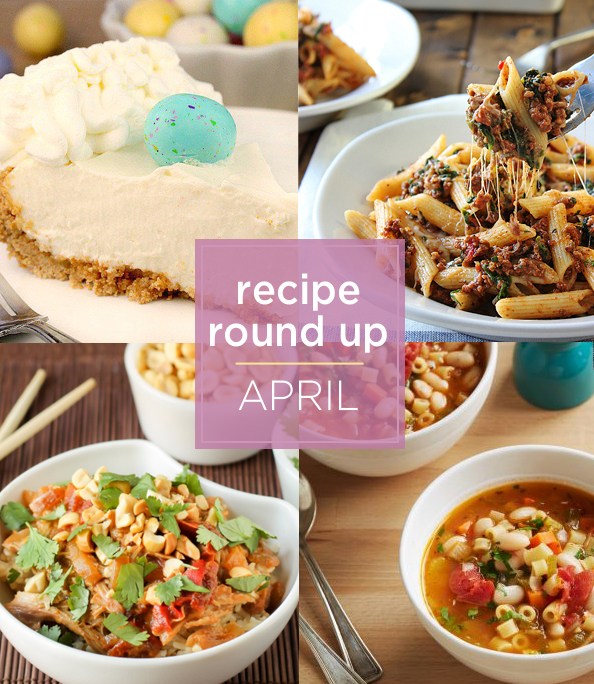 recipe round up April