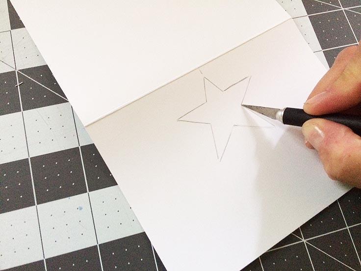 greco design_star card stencil