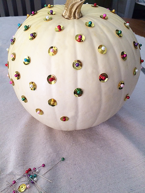 pumpkin bling_decorating more