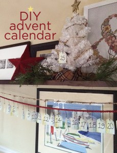 DIY meaningful advent calendar