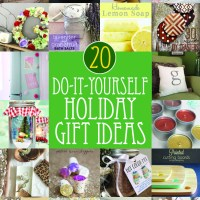 20 DIY holiday gift ideas