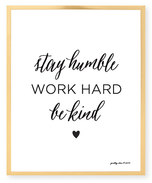 stay humble quote Etsy