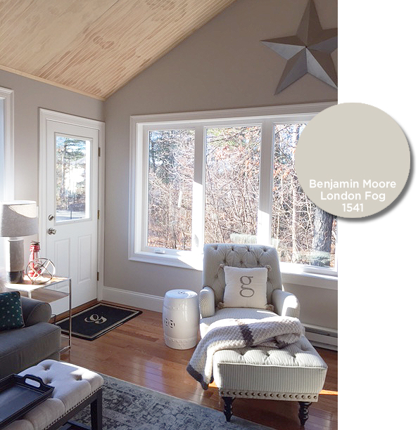Pale Fire And London Fog >> My New Favorite Paint Color