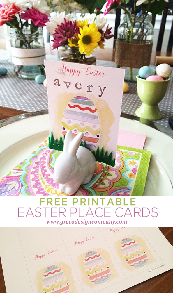Easter place card_pinterest