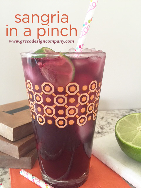 sangria in a pinch main