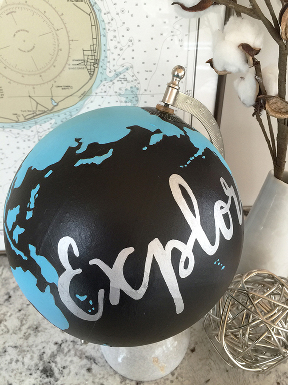 greco design_painted globe_detail 1