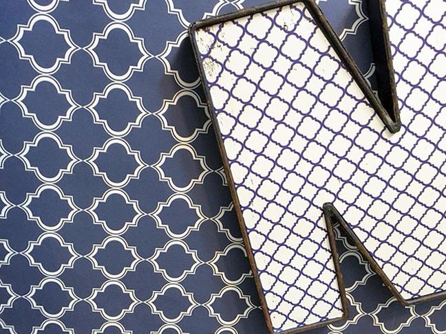framed initial art_patterns