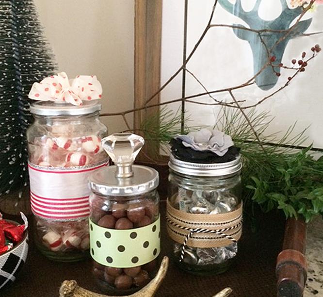 recycled decorative jars