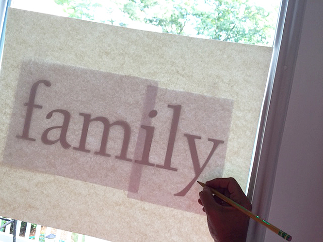 watercolor type_tracing