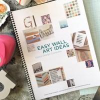 Easy DIY Wall Art Ideas Booklet