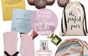 Friday Finds | Holiday Gift Ideas