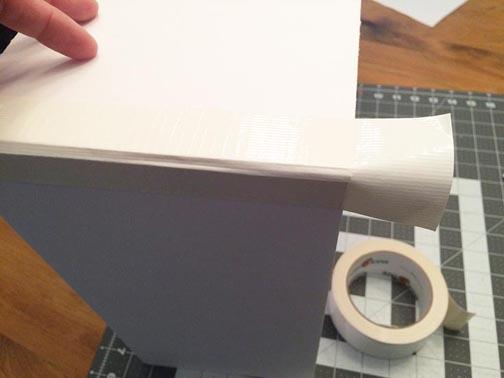 greco design box_duck tape on