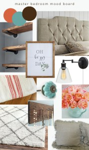 master bedroom redesign | mood board
