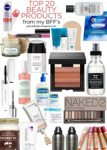 Top 20 Beauty Products | according to my BFF's